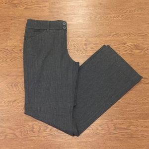 • NY&Co • Charcoal Gray Trousers Size 8 Tall